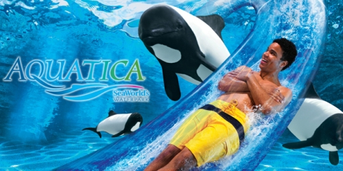 SeaWorld Aquatica Weekday Pass ONLY $29