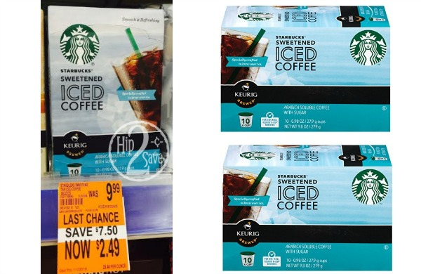 Walgreens Clearance Starbucks Iced Coffee 10 Count K Cups