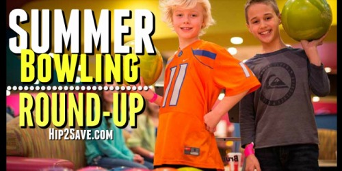 FREE Summer Bowling Options (Register Now)