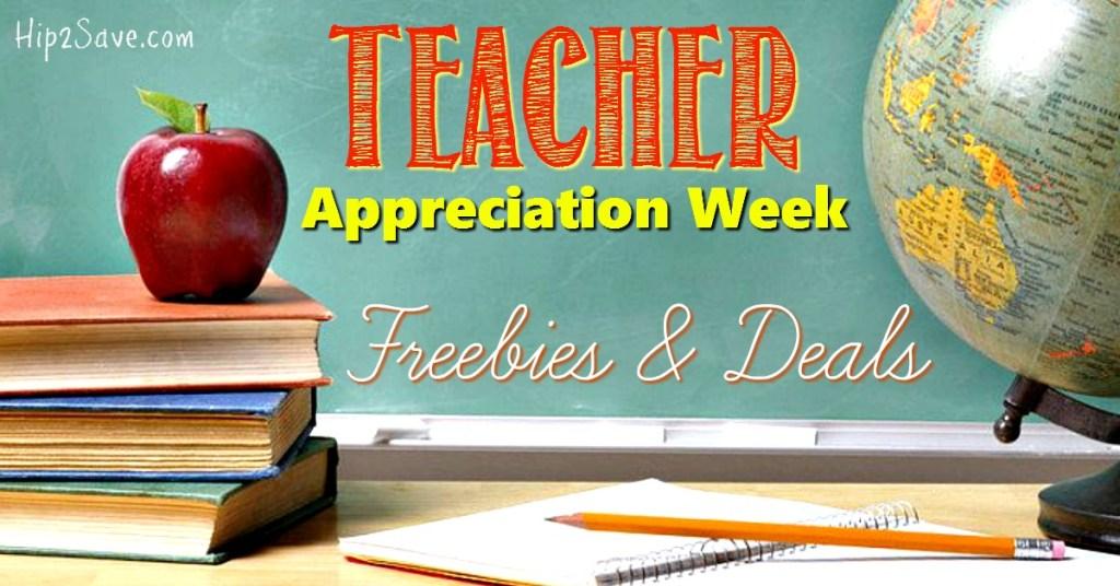 Teacher Appreciation Hip2Save