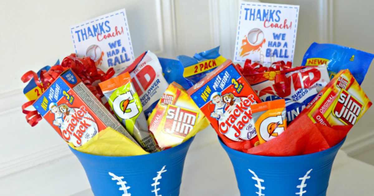 coach gift ideas & Thank Your Coach w/ This End of Season Gift Idea AND Free Printable ...