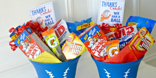 Thank Your Coach w/ This End of Season Gift Idea AND Free Printable Gift Tags