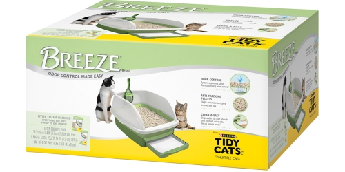 NEW $7/1 Tidy Cat Breeze System Coupon = Only $22.99 at PetSmart & Petco (Regularly $39.99)