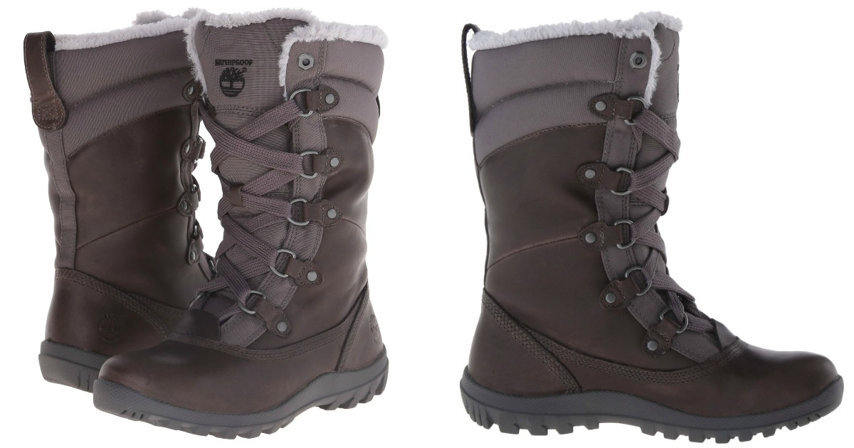 Amazon  Timberland Women s Winter Boots As Low As  31.82 (Regularly  170) 5c3fdec01243