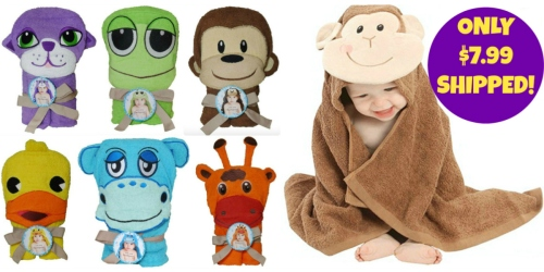 Cute Northpoint Kids Animal Character Towels As Low As Only $7.99 Shipped (Reg. $39.99)