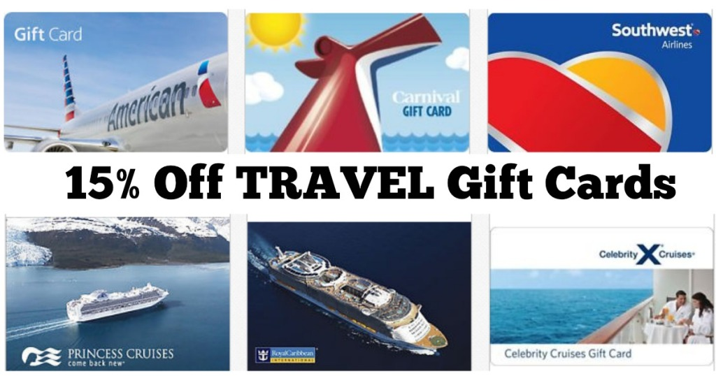 Extra 15 Off 200 Travel Gift Card Purchase Southwest Airlines