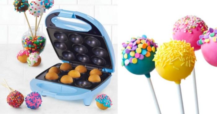 Walmart Nostalgia Mini Cake Pop Maker Only 699 Regularly