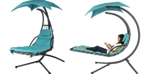 Hanging Chaise Lounger w/ Canopy ONLY $169.95 Shipped (Regularly $399.99)