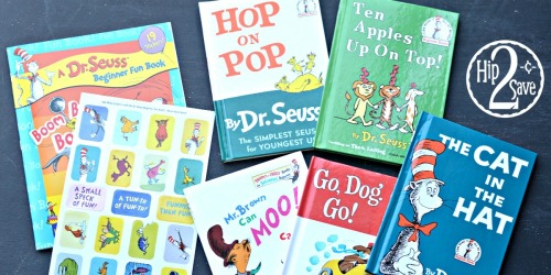 FIVE Dr. Seuss Hardcover Books AND Dr. Seuss Activity Book ONLY $5.95 Shipped