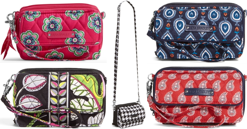 c6aebc067b Vera Bradley All-In-One Crossbody Bag Only  12.59 Shipped (Regularly ...