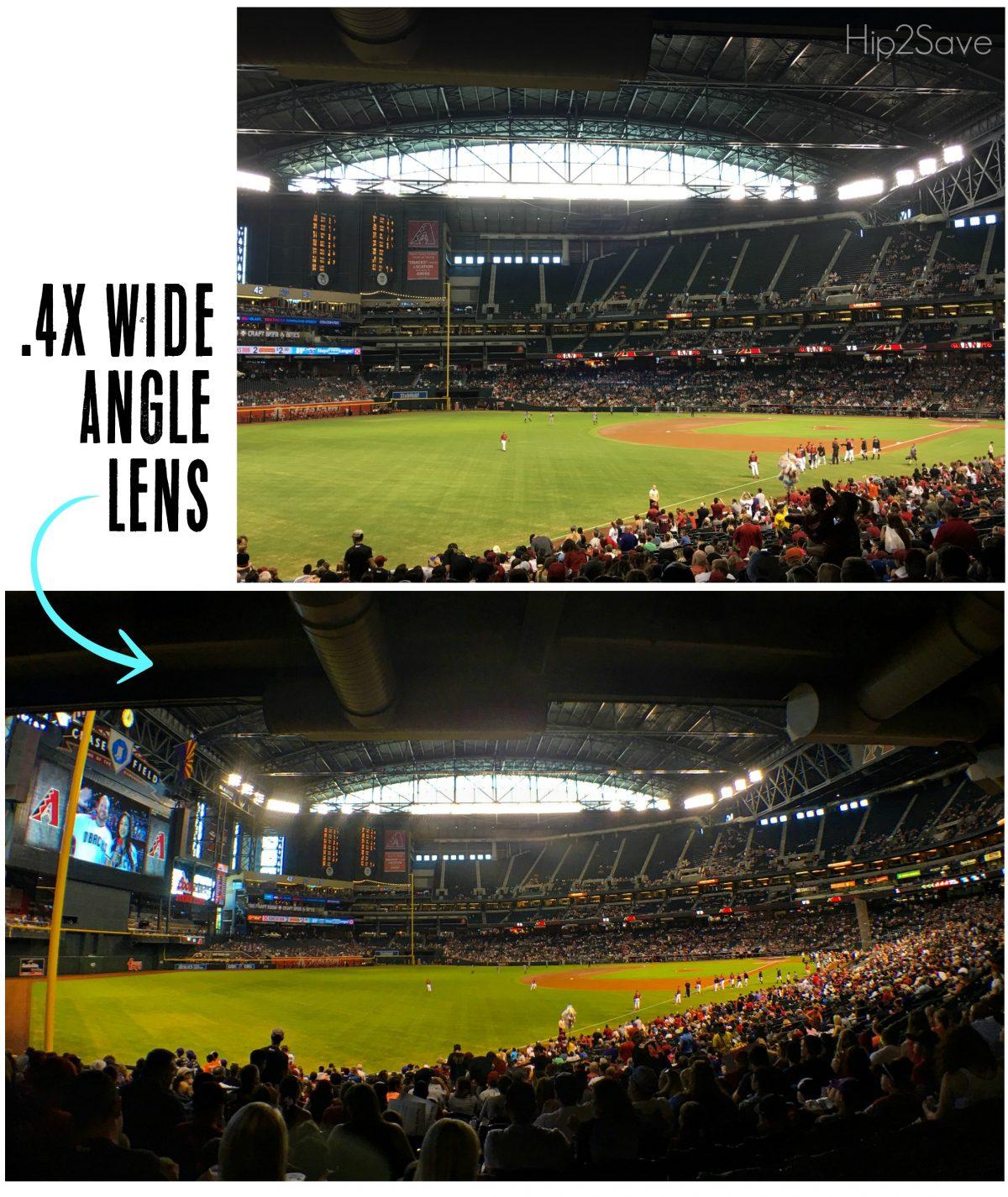 External Super Wide Angle Clip on Amir Lens