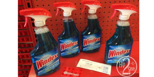 Target: Scrubbing Bubbles and Windex Starting at 18¢ Each