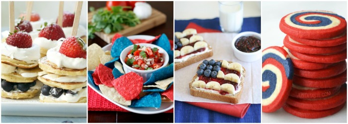 4th of July Recipe Ideas Collage 3