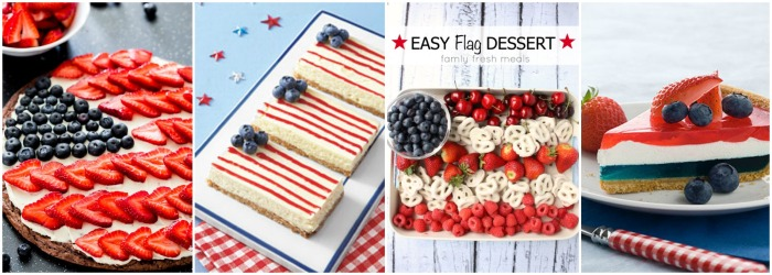 4th of July Recipes Collage 2
