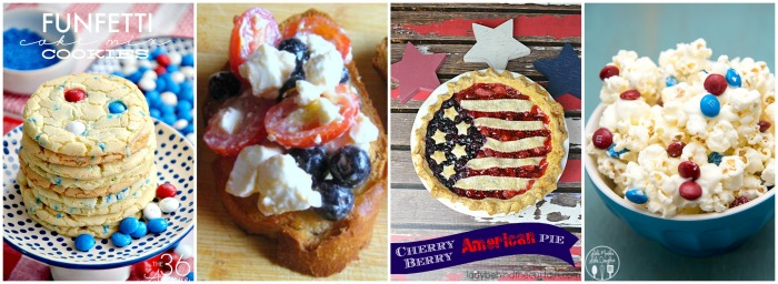 4th of July Recipes Collage 4
