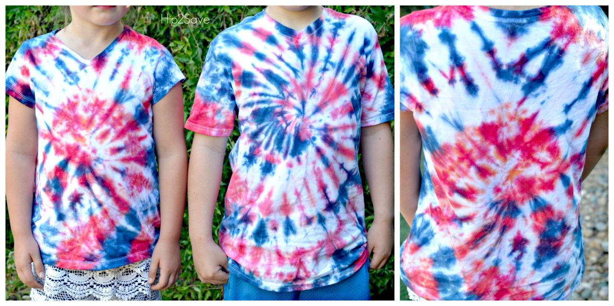 4th Of July Tie Dye Shirts by Hip2Save.com