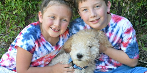Easy Patriotic Tie-Dye Shirts