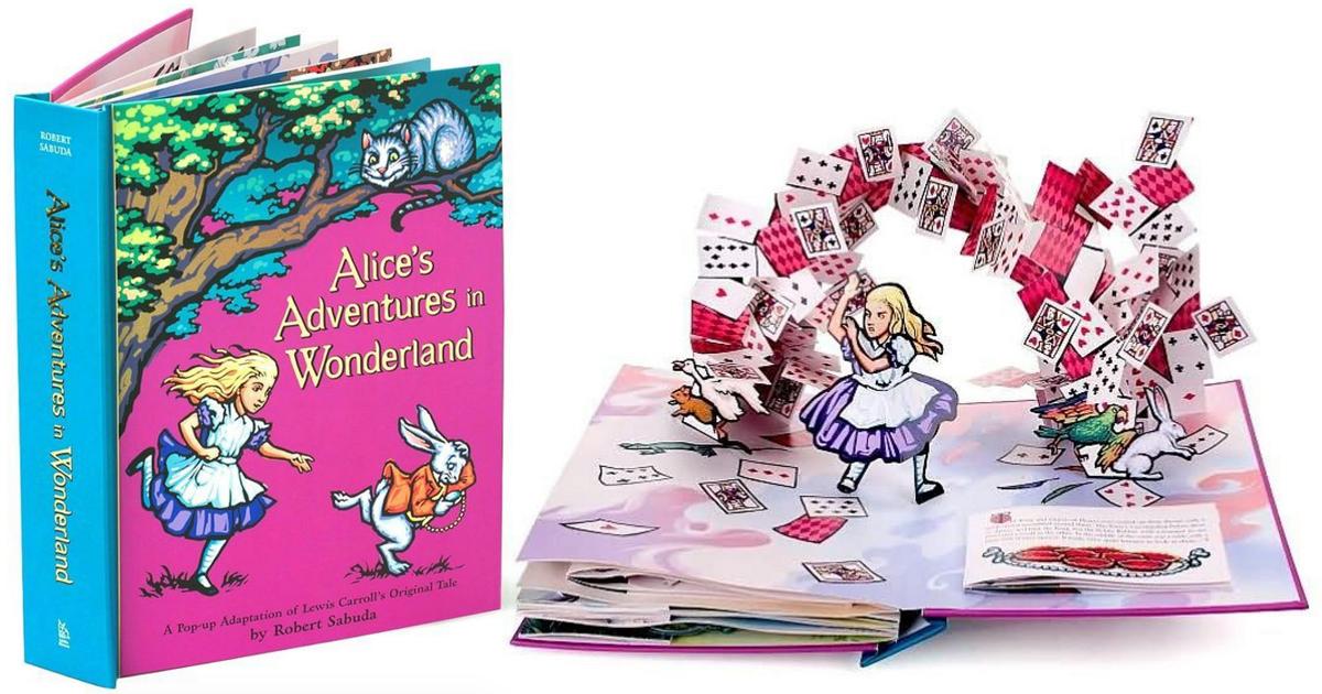 Amazon Alice S Adventures In Wonderland Pop Up Book Only