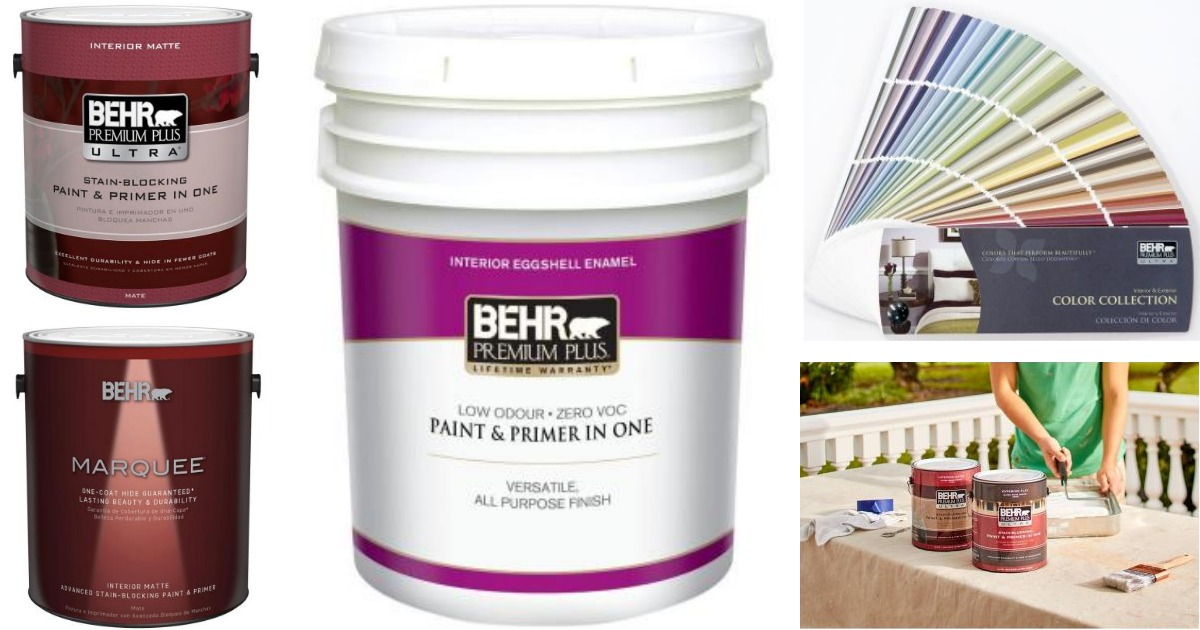 Home Depot Paint Coupons Printable: Home Depot: New BEHR Paint Rebate Available