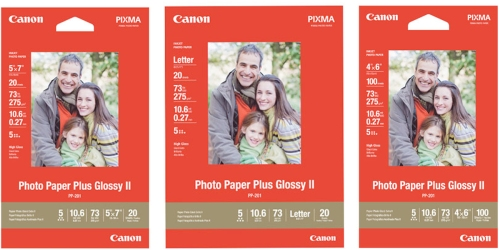 Canon.com: 10 Packs of Canon 5×7 Photo Paper Only 42¢ Each (Regularly $8.49 Per Pack)