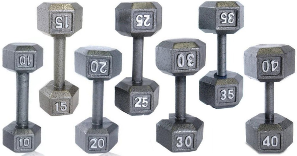 CAP Barbell Cast Iron Hex Dumbbells