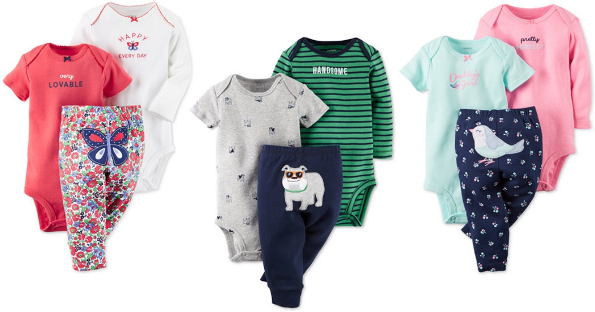 987fedb057d4 Macy s   10 Off  25+ Purchase   Carter s Baby 3-Piece Sets Only  6.65 Each