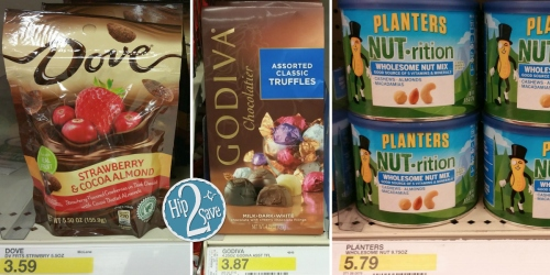 *NEW* Target Cartwheel Offers: 40% Off Dove Fruits, 30% Off Oreo Thins, 25% Off Planters Nuts & More