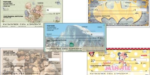 Checks Unlimited: 2 Boxes of Regular Checks Only $6.99 Each Shipped + FREE Address Labels