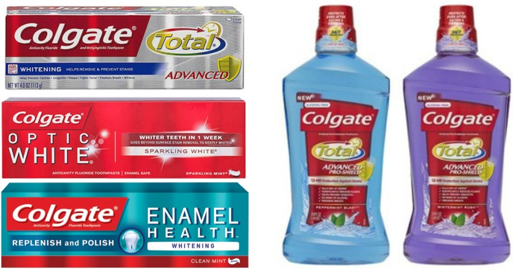 Two New Colgate Coupons = Better Than FREE Toothpaste at