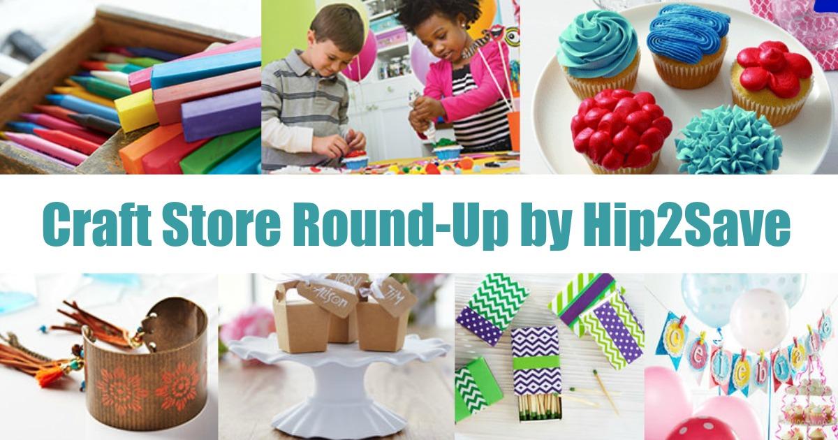 Craft Store Round-Up