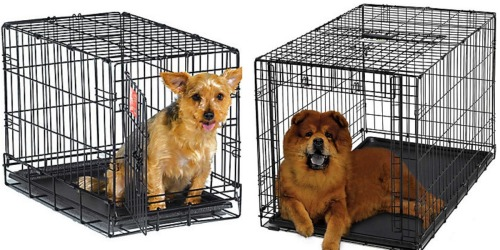 PetCo: Free Shipping on All Orders = 22″ Midwest Dog Crate Only $17.99 Shipped (Reg. $39.99)