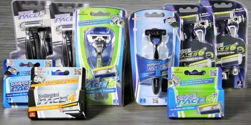 Dorco Pace Men's Razor Pack Only $23.85 Shipped (One Year Supply of Razor Products) + More