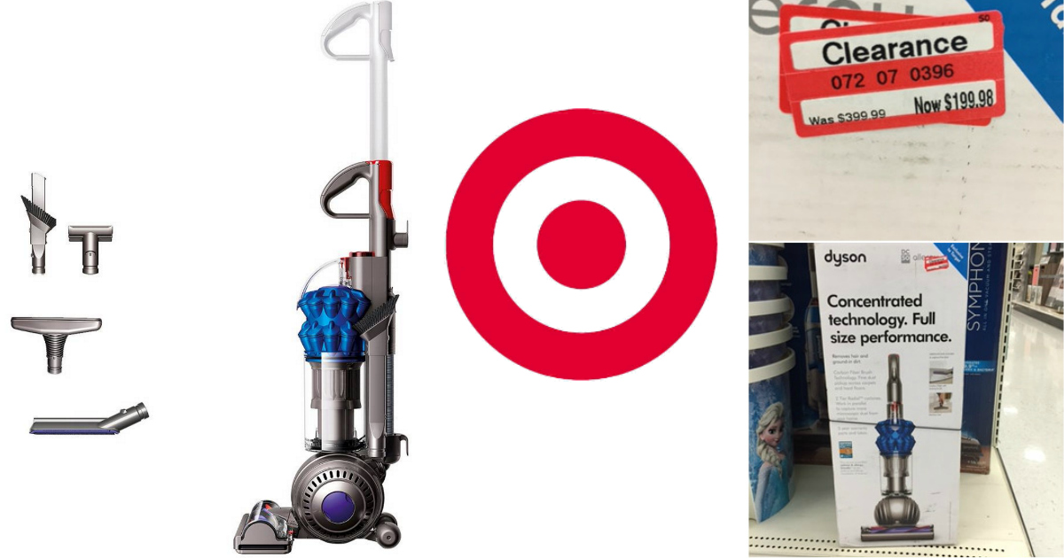 Target Dyson Ball Compact Allergy Upright Vacuum Possibly