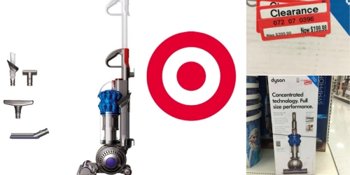 Target: Dyson Ball Compact Allergy Upright Vacuum Possibly Only $199.98 (Reg. $399.99)