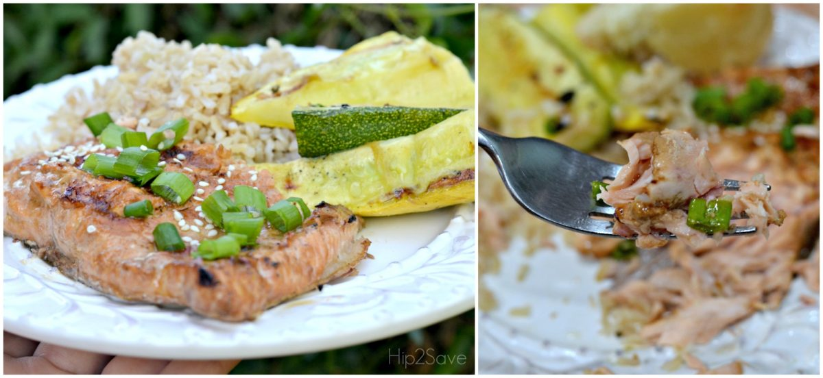 Easy Grilled salmon for Summer by Hip2Save.com
