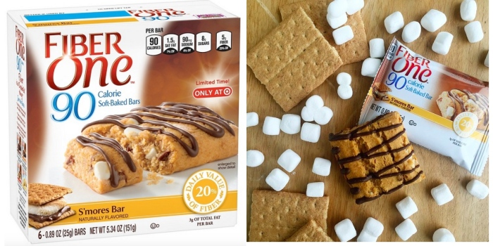 3 New General Mills Coupons = Box of Fiber One S'Mores Bars Only $1.34 at Target