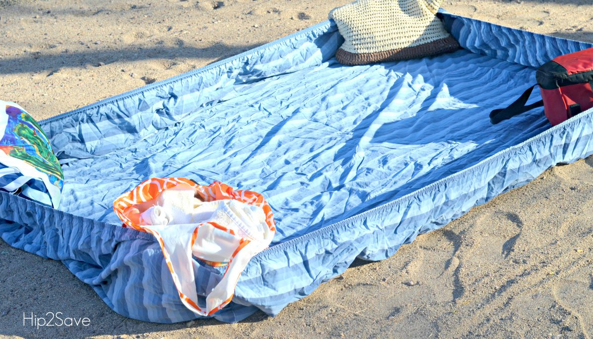 Fitted Sheet Beach Trick