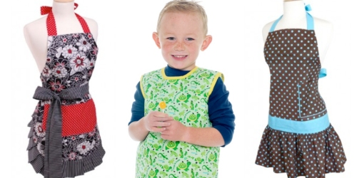 Flirty Aprons: 30% Off & Free Shipping Sitewide = Toddler Lullabibs Only $2.10 Shipped