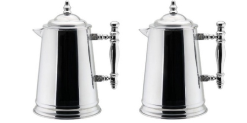 Amazon: Vintage Double Wall Stainless Steel French Coffee Press ONLY $19.95 (Reg. $39.99)