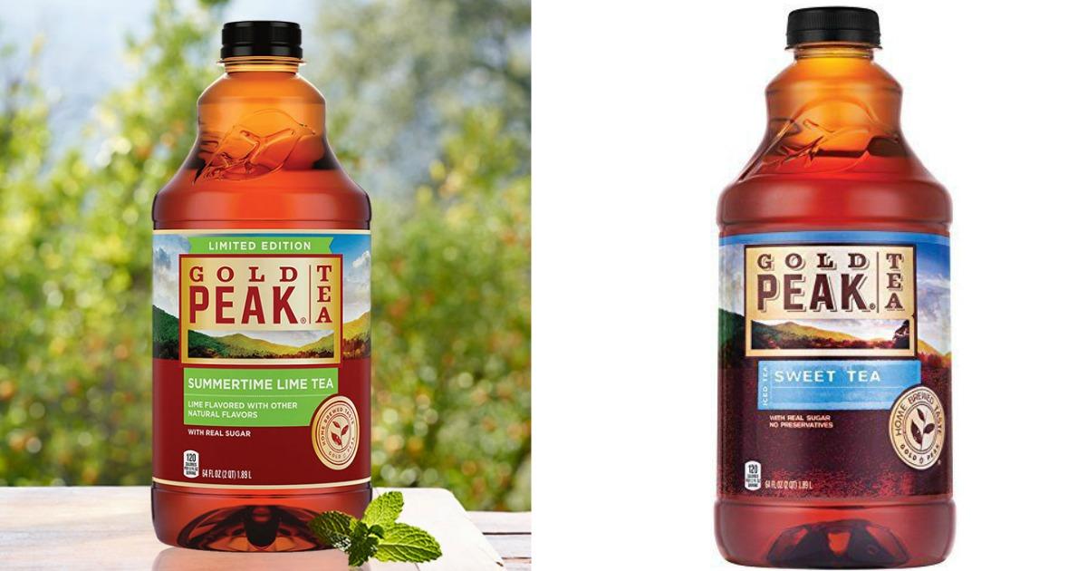 Lipton Tea 20oz Bottle For Sale: Walgreens: Gold Peak Tea 64 Ounce Bottles Only $1.49