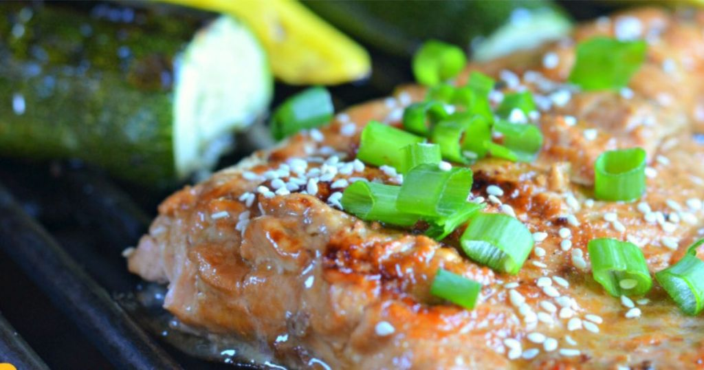 grilled salmon marinade recipe