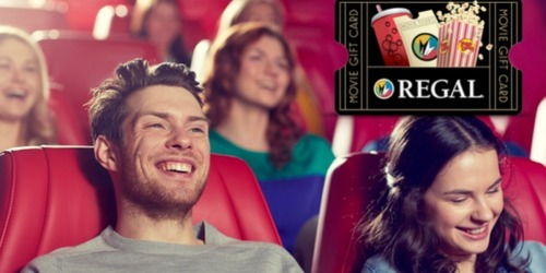 Groupon: $20 Regal Cinemas eGift Card ONLY $10 (Select Email Subscribers Only)