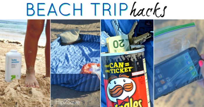 Hacks for Your Beach Trip