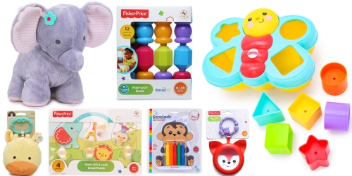 Baby Toys Only $2-$5 (Including Fisher Price, Carters, Garanimals & More)