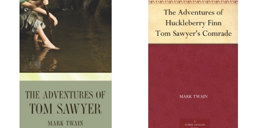 Amazon: Free The Adventures of Tom Sawyer Audiobook AND Kindle eBook Download