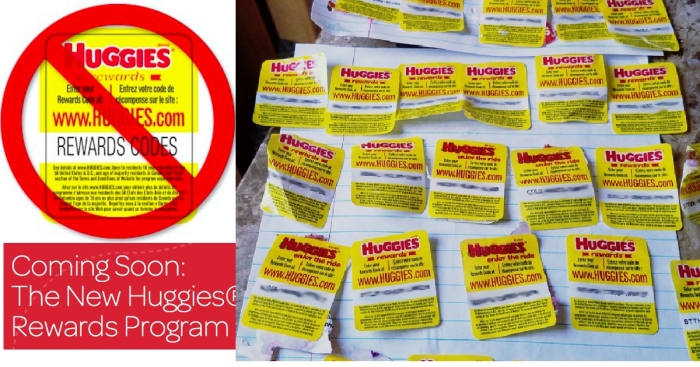 Don't Forget! Huggies Rewards Members MUST Submit Codes By Tonight at 11:59PM CST