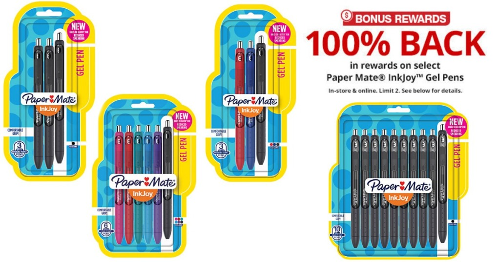 office depot officemax free paper mate inkjoy gel pens after