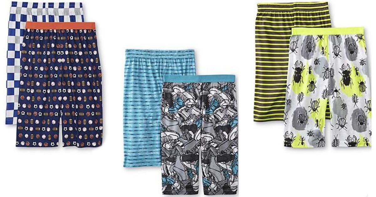 Kmart.com: 50% Off Sleepwear = Joe Boxer Boy\'s 2-Pack Pajama Shorts ...