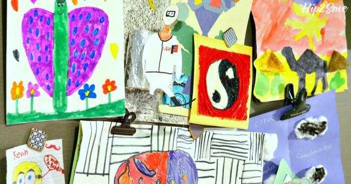 Keepy App for Organizing Kid Artwork