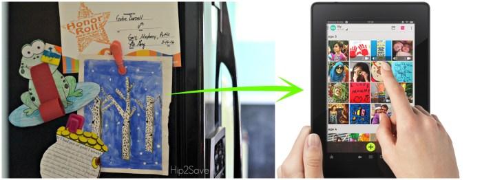 Keppy.Me App for storing kids artwork and schoolwork